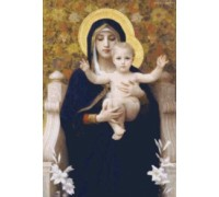 The Virgin of the Lilies by William Bouguereau