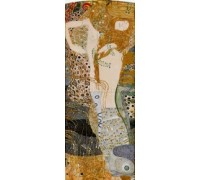 Water Serpents I by Klimt