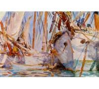 White Ships by John Singer Sargent