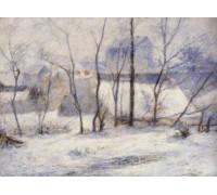 Winter Landscape - Effect of Snow by Paul Gauguin