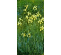 Yellow Irises by Claude Monet