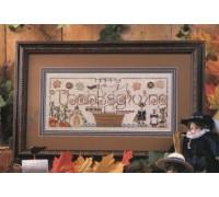 Happy Thanksgiving Chart - 02-2457