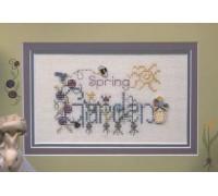 Spring Garden Chart - 03-1746