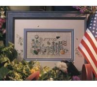 Summer Garden Chart - 02-2250