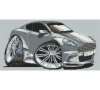 Aston Martin DBS Caricature - KRT-2079-K