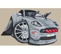 Aston Martin Vanquish Bond Caricature - KRT-1595-K