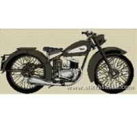 BSA D3 Bantam 1948 Motorcycle - SKU KAS-2454-K - 14ct
