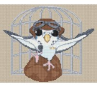 Budgie Caricature - PET-0003-K