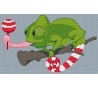 Chameleon Caricature - PET-0004-K