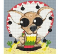 Chihuahua Caricature - PET-0005-K