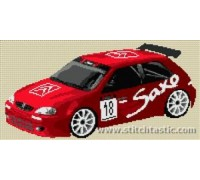 Citroen Saxo Rally Car - SKU KAS-6260-K - 14ct