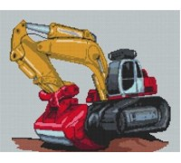 Digger Caricature - KRT-0625-K