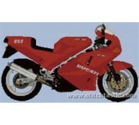 Ducati 851 Motorcycle - SKU KAS-2105-K - 14ct