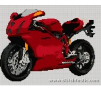 Ducati 999 Motorcycle - SKU KAS-8517-K - 14ct