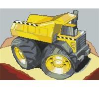 Dumper Truck Caricature - KRT-1808-K