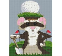 Ferret Caricature - PET-0007-K