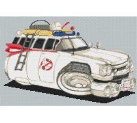 Ghostbusters Cadillac Caricature - KRT-2081-K