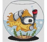 Goldfish Caricature - PET-0009-K