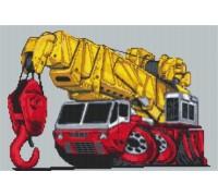 Heavy Lift Crane Caricature - KRT-0629-K