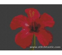 Hibiscus Flower - SKU NAT-0003-K - 14ct