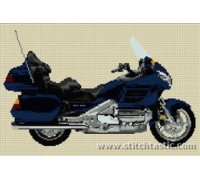 Honda Goldwing 2005 Blue Motorcycle - SKU KAS-3468-K - 14ct