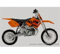 KTM 65 Motorcycle - SKU KAS-0230-K - 14ct