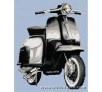 Lambretta Scooter - SKU KAS-2323-K - 14ct