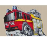 London Fire Engine Caricature - KRT-1845-K