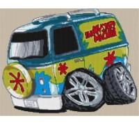 Mystery Machine - Scooby Doo Caricature - KRT-1606-K
