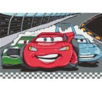 Red Nascar Caricature - KRT-2010-K