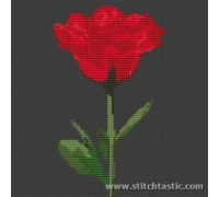Contemporary Red Rose - SKU NAT-0008-K - 14ct