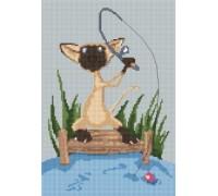 Siamese Cat Caricature - PET-0105-K