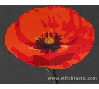 Single Poppy Flower Kit - SKU NAT-0000-K - 14ct