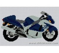 Susuki Hayabusa GSX 1300 Motorcycle - SKU KAS-6958-K - 14ct