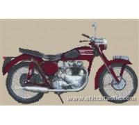 Triumph Twin Motorcycle - SKU KAS-0074-K - 14ct