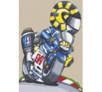 Valentino Rossi Fiat Caricature - KRT-2109-K