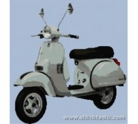 Vespa PX 125 Scooter - SKU KAS-3959-K - 14ct