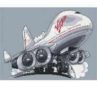 Virgin Boeing 747 Jumbo Jet - KRT-0631-K