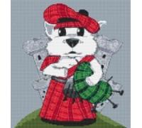 Westie Dog Caricature - PET-0104-K