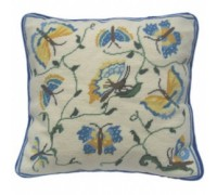 Blue and Yellow Butterflies Tapestry