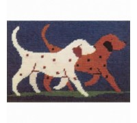 Dogs Tapestry by Susan Lethbridge