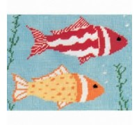 Goldfish Tapestry by Susan Lethbridge