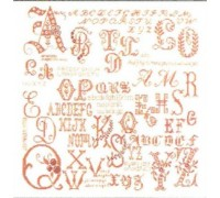 Antique Writing Sampler