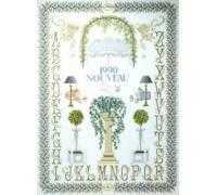 Art Nouveau Floral Sampler