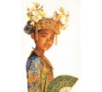 Balinese Dancer Cross Stitch