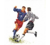 Footballer Cross Stitch