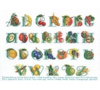 Fruit Alphabet Sampler