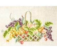 Fruit Basket Cross Stitch