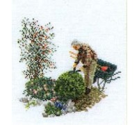 Gardening Cross Stitch