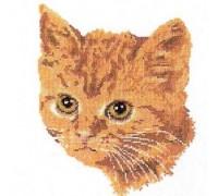 Ginger Cat Cross Stitch